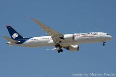 Aeromexico 787 n438am (merlyn.pauley) Tags: madrid madridbarajasairport airport spain aeromexico 787 n438am dreamliner boeing