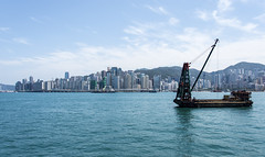 hk harbour (Greg Rohan) Tags: hongkongharbour hongkong boat harbour asia water d7200 2017 ocean sea blue seascape china