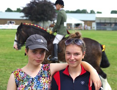 A fabulous weekend at the Kent County Show with my horse mad daughters. Phoebe and Abbey! (favmark1) Tags: kentcountyshow kent detling abbey phoebe 2017 365 365challenge day169