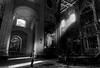 Faith (Panos Argiriou) Tags: blackandwhite church italy bw 5d 5dmarkii picoftheday shadows sunrays monochrome atmosphere rome canon travel