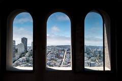 no fires this way (Ben McLeod) Tags: california coittower lombardstreet sanfrancisco skyline