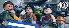 12. The Ghost Crew (kyle.jannin) Tags: lego legostarwars star wars rebels rebel crew ghost hera kanan ezra bridger sabine zeb jarrus syndulla garazeb orrelios wren chopper starwars