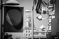 02_Farolas (Ragonar) Tags: farolas madrid madridphoto granvía streetphotography streetstyle ragonar blackwhite bw blanconegro
