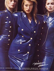 Michael Hoban for North Beach Leather 1987 (barbiescanner) Tags: vintage retro fashion vintagefashion vintageads 80s 1980s 80sfashion 1980sfashion estellelefébure tatianapatitz christyturlington michaelhoban northbeach leather