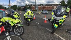 Motorbike meet up (barronr) Tags: scottishambulanceservice scotland musselburgh edinburghmarathon help 999 911 112 motorbike
