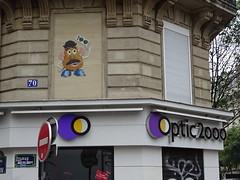 Mr Djoul (juin 2017) (Archi & Philou) Tags: mrdjoul streetart pixelart paris11 république oberkampf parmentier mosaïque mosaic carreau tiles