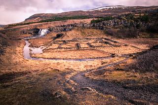 Fossarett waterfall - Iceland - Landscape photography