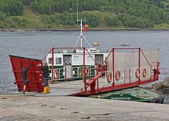 The Glenachulish.. (Harleynik Rides Again.) Tags: glenachulish ferry turntable glenelg scotland kylerhea isleofskye harleynikridesagain