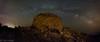 Panoràmica de via lactea (Mas Martís) Tags: vialactea milkyway costabrava torredeguaita capnorfeu empordà catalunya longexposure llargaexposició night nit nocturna panoràmica panoramic sigma1020 nikon