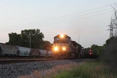 NS 8965 (CC 8039) Tags: ns gmtx up trains c409w ac44cw c449w sw1500 searchlight signal mitchell illinois