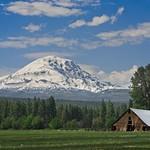 Mt Adams and Barn 2030 E thumbnail