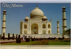 Postcrossing IN-237253 (booboo_babies) Tags: india tajmahal worldfamous postcrossing