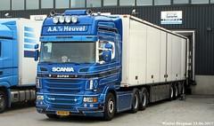 Scania R730 Super V8 2011 (XBXG) Tags: bzdv01 scania r730 2011 scaniar730 r 730 v8 diesel blue trekker trailer oplegger aavdheuvel vd heuvel 6x2 schiphol nederland holland netherlands paysbas swedish truck sverige sweden camion vrachtwagen vrachtauto véhicule poids lourd lastkraftwagen lkw lastwagen lastbil vervoer transport vehicle outdoor
