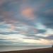 Silver Harvest - Aldeburgh, Suffolk (Justin Minns) Tags: single longexposure summer sunrise leefilters littlestopper aldeburgh blur boat coast lone suffolk clouds