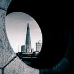 The Shard & The Moon London City by Simon Hadleigh-Sparks thumbnail