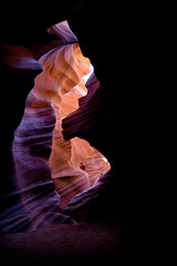 Almost the End (Thankful!) Tags: slotcanyon page az antelopecanyon lowerantelopecanyon shadows redrock sandstone carved striations
