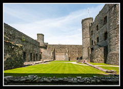 Inside the Keep (veggiesosage) Tags: wales harlech harlechcastle castle aficionados gx20 grade1listed sigma1020mmf456dc