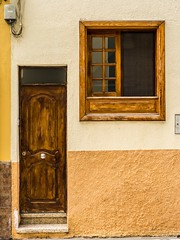 Doors and Windows and Colors. (CWhatPhotos) Tags: cwhatphotos red door tenerife puerto del la cruz puertodellacruz 65 olympus four thirds 43 digital camera photographs photograph pics pictures pic picture image images foto fotos photography artistic that have which with contain artistc art june 2017 holidays holiday time spain espana puero puetadellacruz doors windows colors colours color colour old openings