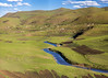Mountain High, Valley Low (Hans van der Boom) Tags: holiday vacation southafrica zuidafrika sawadee maseru lesotho valley river mountains landscape lso