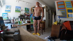 Butch Naked, himself.  Sign in to remove my clothes. (Terry David Silvercloud) Tags: nakedmen nudemen photographer artist visualartist davidsilvercloud butchnaked