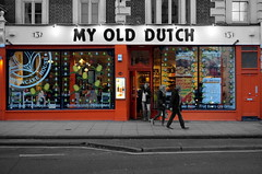 My Old Dutch (_steve h_) Tags: streetphotography london urban candid sony nex6 old dutch pancake house restaurant street orange