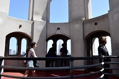 Elevation (-»james•stave«-) Tags: sanfrancisco sf california ca telegraphhill city urban building architecture landmark coittower tower observationdeck arch people view nikon d5300