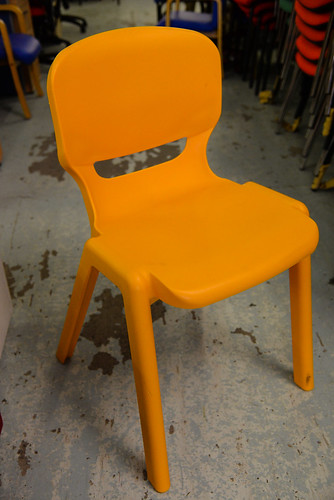 Plastic meeting chair