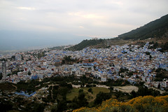 Chefchaouen in the Mountains (Peeping Thom) Tags: morocco marokko travel trip africa nordafrika northafrica maghreb 2017 chefchaouen mountain