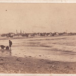 Young beachcombers, Peterhead by James Shivas (late 1860s) thumbnail