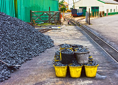 New Romney 24 June 2017-0059.jpg (JamesPDeans.co.uk) Tags: fuel landscape coal rails prints for sale kent agriculture unitedkingdom commerce man who has everything britain newromney wwwjamespdeanscouk black sidings landscapeforwalls europe uk england gb greatbritain transporttransportinfrastructure narrowgauge places railwaystation romneyhythedymchurchrailwayrhdr green digital downloads licence colour points railwaycompanies yellow gate buckets irrigation railway mining coalmining descriptions james p deans photography