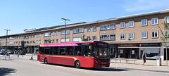 National Express West Midlands ADL Enviro 200 MMC, 2213 (YX15 OZC) (paulburr73) Tags: 2213 yx15ozc e200 alexanderdennis solihull midlands westmidlands enviro200 mmc bus buses 2017 june adl nationalexpress nxwm ag acocksgreen majormodelchange crimson branding routebranded service5 stationroad