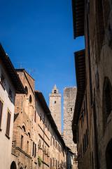 DSC_0345-Edit.jpg (saladino85) Tags: stone arch landscape tourists old brick italy hills holiday sangimignano historical scenery towers tower history building tuscana tuscany sunset