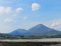 Beinn na Caillich (2,403ft), Broadford, Isle of Skye, May 2017 (allanmaciver) Tags: beinn caillich dearg mhor beag gaelic mountain daminate broadford sky overlook shadow weather clouds sand sea shore seaweed scenery allanmaciver