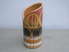 Vintage 1970's Poole Pottery Sienna Vase Mid Century Modern Design (beetle2001cybergreen) Tags: vintage 1970s poole pottery sienna vase mid century modern design