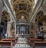 Chiesa del Gesu e dei Santi Ambrogio e Andrea (plume-rider (randomly on-line)) Tags: genoa italy church vertorama lightroom topaz photoshop