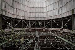 Cooling tower A.L. (Travelers Of The Past) Tags: cooling tower tour refroidissement indu industrie industriel factory cloud urbex urban exploration urbaine friche decay lost place forbidden places forget forgotten explorer abandoned abandonné