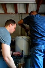 Sparging (dale.kirkwood) Tags: homebrewing homebrew grainboys craftbeer craftbrew craftbrewing homebrewer newenglandipa