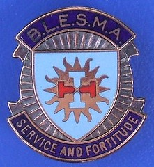 (BLESMA) British Limbless Ex-Service Men's Association - membership badge (1950's / 1960's) (RETRO STU) Tags: blesma britishlimblessexservicemen'sassociation hmarmedforcesveterans amputees injured worldveteransfederation militarypersonnel prosthetics artificiallimbs blesmasupportofficers elizabethfranklandmoorecarehome rehabilitation recuperation britishlegion enamelbadge serviceandfortitude