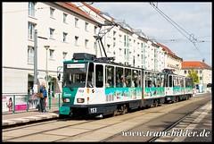153-2017-04-24-1-Platz der Einheit (steffenhege) Tags: potsdam strasenbahn ckd kt4dm 153