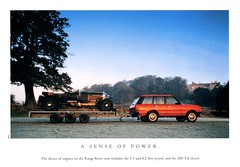 1994 Land Rover Range Rover (aldenjewell) Tags: 1994 land rover range brochure