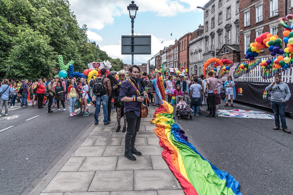 LGBTQ+ PRIDE PARADE 2017 [STEPHENS GREEN BEFORE THE ACTUAL PARADE]-129774