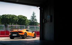 Performante. (Alex Penfold) Tags: lamborghini performante imola matte orange huracan gold wheelers supercar super car cars autos alex penfold 2017 italy