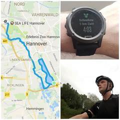 Laufen und #Stadtradeln. Momentan komme ich weniger zum Laufen. Dennoch lief es heute echt gut. Die Strecke zum Maschsee hat sich inzwischen zwar wesentlich verlängert, aber mit dem Rad kein Problem. 26km Fahrrad und 6km Laufen 25:57min 4:16min/km. Zwar f