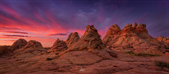 South Coyote Buttes, Arizona (www.fourcorners.photography) Tags: arizona vermillioncliffswilderness southcoyotebuttes cottonwoodcove teepees rock sunrise hike outdoor landscapephotography southwestphotoadventures fourcornersphotography peterboehringerphotography leendgrad06 visipix