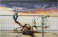 0380-41-EAST SIDE GALLERY - BERLÍN - (--MARCO POLO--) Tags: ciudades arte murallas murales pinturas graffitis rincones