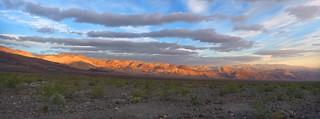 Sunrise at Emigrant Camp, Death Valley
