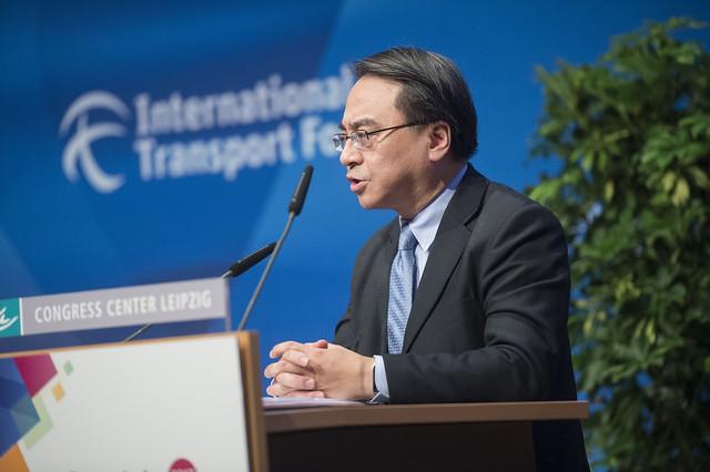 Jacob Kam Chak-pui on Hong Kong's high speed rail hub