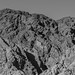 Black and white rocky place