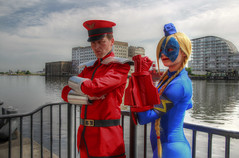 MCM London May 2017 XX (Lee Nichols) Tags: highdynamicrange hdr handheldhdr photomatix photoshop tonemapping tonemapped cosplayers canoneos600d cosplay costume costumes comiccon mcmcomiccon mcmlondonmay2017 streetfighter mbison cammy cammywhite