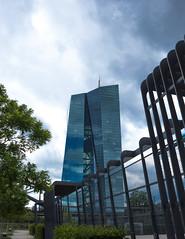 The ECB (lilamuhkuh) Tags: ezb europäische zentralbank dslr canon eos main ufer frankfurt hafen bank kapitalismus